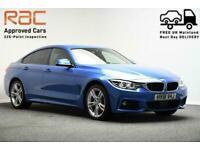 2018 18 BMW 4 SERIES 3.0 430D XDRIVE M SPORT GRAN COUPE 4D 255 BHP DIESEL