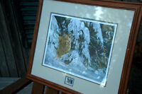 MARTEN VISSER NUMBERED AND SIGNED PRINT....'OUT OF THE WOODS'