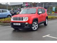 2015 JEEP RENEGADE Jeep Renegade 1.4 Multiair Limited 5dr 2WD