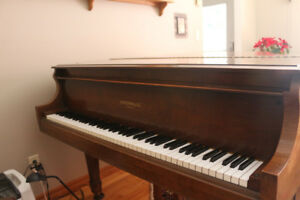 "1928 Heintzman 5' 6"" Grand Piano w/concert bench"