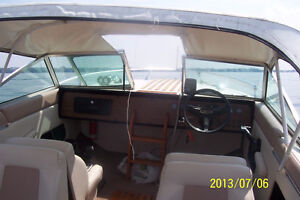 Boat and Trailor 19 ft Doral Inboard outboard (no cabin) 7 seats