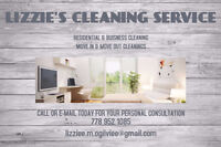 LIZZIE'S CLEANING SERVICE