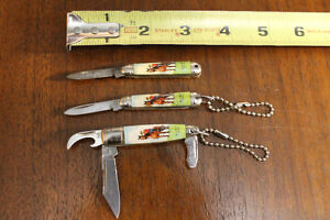 SCOUT-RCMP Mini POCKET KNIVES made Sheffield England