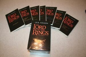 LORD OF RINGS 7 BOOK SET