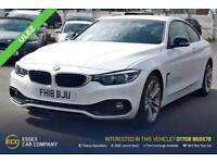 2018 BMW 4 Series 2.0 420D SPORT 2d 188 BHP Coupe Diesel Automatic