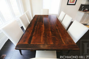 Barnwood Tables - Locally Made from Reclaimed Hemlock & Pine London Ontario image 10