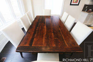 Barnwood Tables - Locally Made from Reclaimed Hemlock & Pine London Ontario image 10