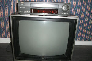 "JVC VH player with Sears 19"" t.v."