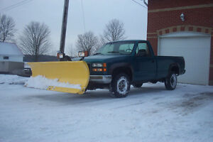 FORSALE 1X 1995 GMC 2500 3/4 4X4 WITH 7.5' DIAMOND PLOW FORSALE