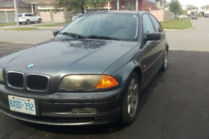 2001 BMW 320i as is