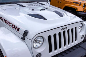 Power Dome Hood - Jeep Wrangler JK - WHITE