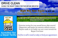 Accredited Drive Clean/Emissions Test & Repair Facility