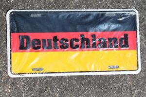 Germany Deutschland Soccer Licence Plate