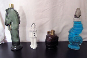 Collectible Avon bottles - perfect condition