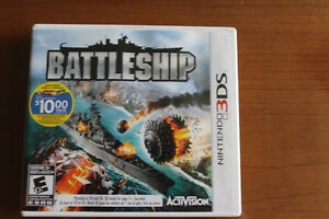 """ BATTLESHIP "" 3DS GAME : GREAT PRICE !"