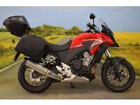 Honda CB500X 2016**PANNIERS, TOPBOX, H.I.S.S, CENTRE STAND, WAVY DISCS**