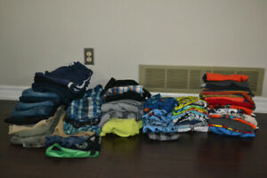 53 items of Boys size 10-12 clothes