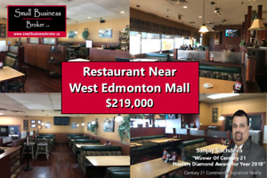 Restaurant Near West Edmonton Mall For Sale