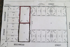 Lot zoned for multi-family dwelling
