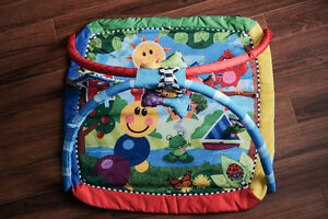 Colourful thing to put little ones on!
