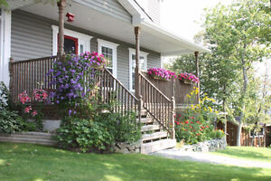 Beautiful, private well-crafted 2-storey  Eastern Passage