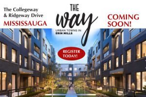 Brand New Townhomes Mississauga From $565,900 Parking Included