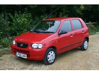 AMAZING 30 Road TAX SUZUKI ALTO done 62358 Miles with FULL SERVICE HISTORY