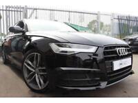 2017 67 AUDI A6 2.0 TDI ULTRA S LINE BLACK EDITION 4D 188 BHP DIESEL
