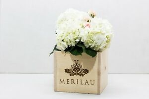 Wedding Table Centre Pieces - Re-sized French Wine Crates