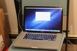 "MacBook Pro 15"" Mid 2010 – 8 GB RAM – 1TB – Quad Core i7"