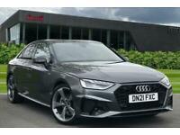 2021 Audi A4 35 TDI Black Edition 4dr S Tronic Auto Saloon Diesel Automatic