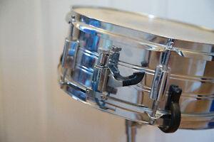 Drum Kit- 6 piece. Bass, 2 Toms, Snare, High Hats, Crash