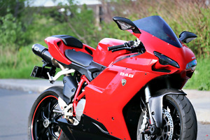 Ducati 848. Many mods + Ready for the season!