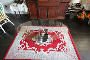 URGENT Table basse verre / Glass coffee table