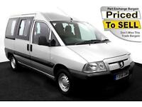 2007(56) PEUGEOT EXPERT 1.9D WHEELCHAIR ACCESSIBLE VEHICLE