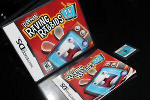 NINTENDO DS+2DS+3DS-RAYMAN-RAVING RABBIDS-TV PARTY