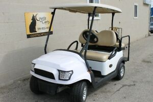 2014 White Club Car Precedent ( Electric ) Custom