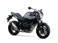 Suzuki SV 650XAL8 WITH 36 MONTHS 0% FINANCE £199 DEPOSIT =£89.78