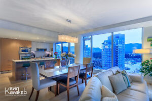 "★""West Pender Place"" -- 2 BR with Spectacular View & Design★"