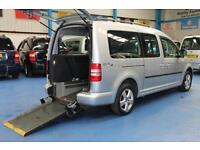 Volkswagen Caddy wheelchair accessible car auto DSG Fold Flat Ramp Automatic VW