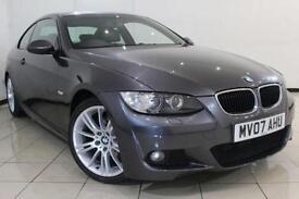 2007 07 BMW 3 SERIES 2.0 320D M SPORT 2DR 175 BHP DIESEL