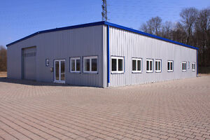 NEW STEEL BUILDING FOR LESS MONEY AND STRESS FREE!!