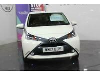 2017 Toyota AYGO VVT-I X-STYLE SAFETY SENSE Hatchback Petrol Manual