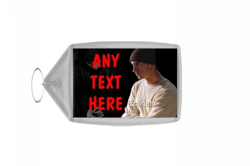Eminem Personalised Keyring