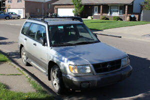 2000 Subaru Forester - Awesome on Snow and Ice!