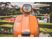 Lambretta V125 Special 2018 *In Stoke on Trent now!*