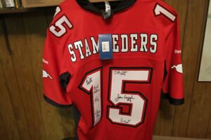 Calgary Stampeders Signed Jersey