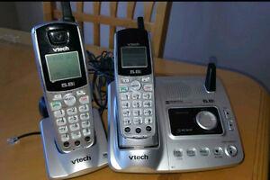 V-Tech cordless phone & answering machine Regina Regina Area image 1
