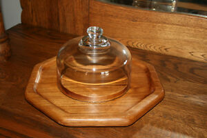 Baribo-Maid Wooden Nut Bowl/ Wooden Cheese Tray Belleville Belleville Area image 5