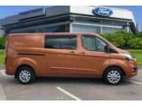 2019 Ford Transit Custom 2.0 EcoBlue 170ps Low Roof D/Cab Limited Van Auto Panel